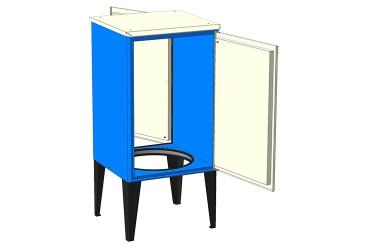 Малогабаритный приборный шкаф МПШ-1288