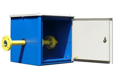Малогабаритный приборный шкаф горизонтально разрезной МПШ-гр 0666