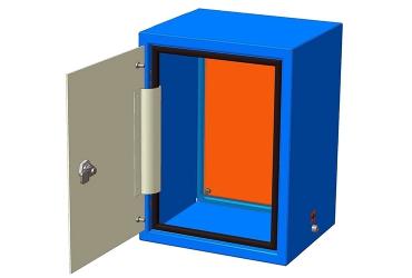 Приборный шкаф цельный ПШ-ц 0432,5