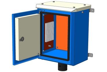 Приборный шкаф цельный ПШ-ц 0543