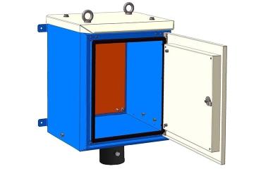 Приборный шкаф цельный ПШ-ц 0654