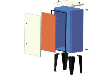Приборный шкаф цельный ПШ-ц 1288