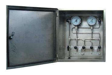 Приборный шкаф нержавеющий ПШ-н 0652