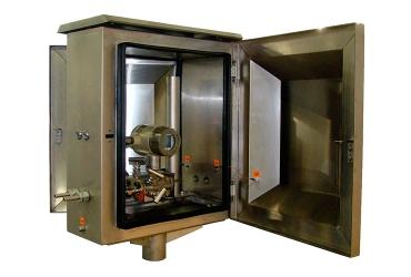 Шкаф приборный климатический нержавеющий утепленный ПШ-н 0654