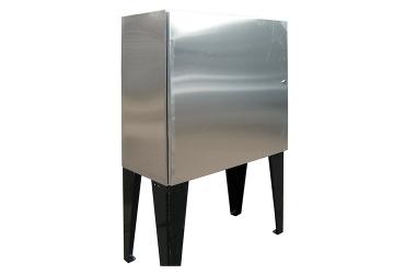 Приборный шкаф нержавеющий ПШ-н 0883