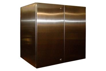Приборный шкаф нержавеющий ПШ-н 0886