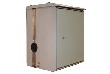 Малогабаритный приборный шкаф вертикально разрезной МПШ-вр 0654