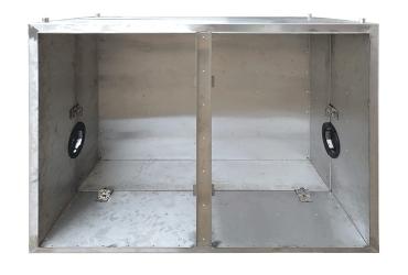 Приборный шкаф разрезной ПШ-р 12148 нж